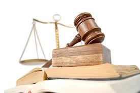 scales, gavel, law books
